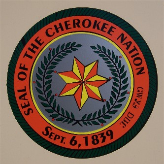 ... see around tahlequah is the cherokee nation seal the cherokee seal was