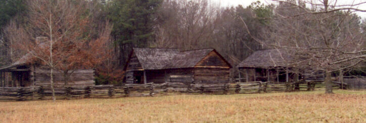 Middle Class Cherokee Home Amp Outbuildings
